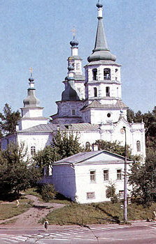 Krestovozdvizhenkaya church in Irkutsk